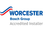 Worcester Bosch accredited boiler installers Northampton
