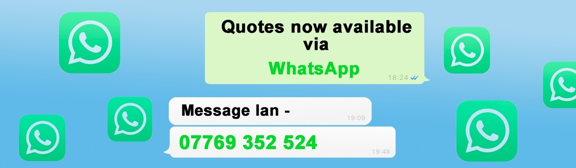 Need a new boiler? Quotes now available via WhatsApp. Message Ian on 07769 352 524