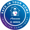 Worcester Bosch Safe In Your Home Logo