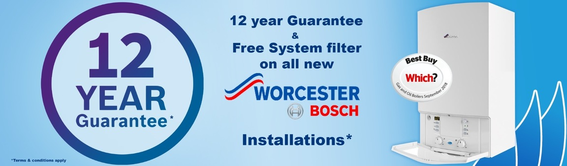 Worcester Bosch Engineer Northampton - British made gas boilers